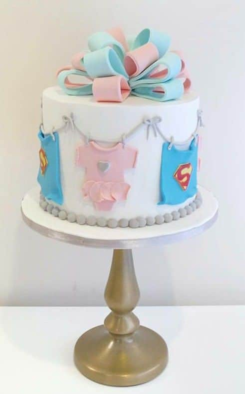 Gender Reveal Cake Ideas 17