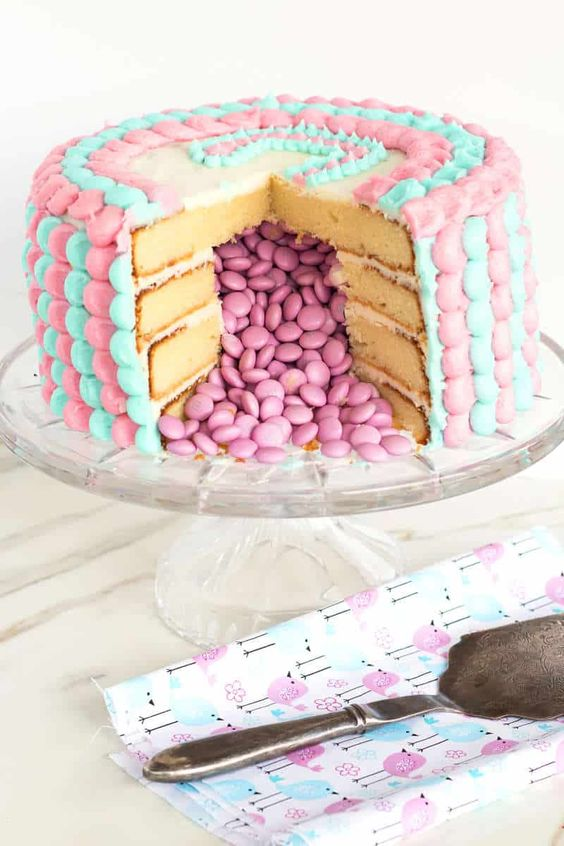 Gender Reveal Cake Ideas 2