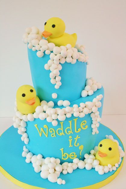 Gender Reveal Cake Ideas 3