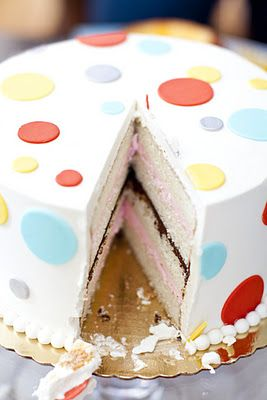 Gender Reveal Cake Ideas 31