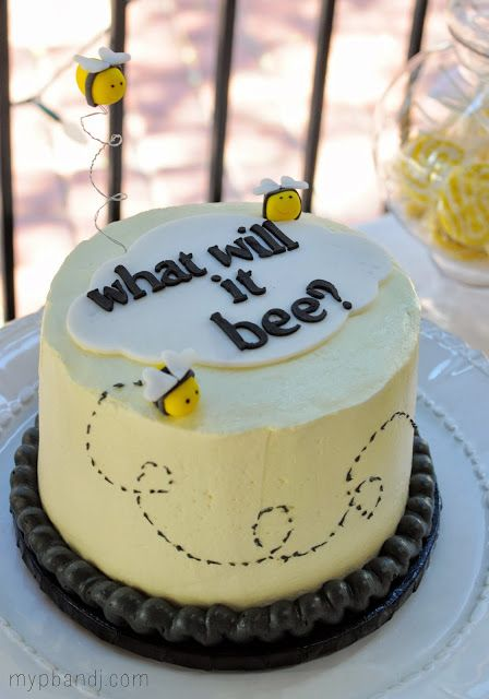 Gender Reveal Cake Ideas 36