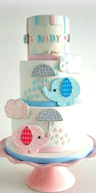 Gender Reveal Cake Ideas 4