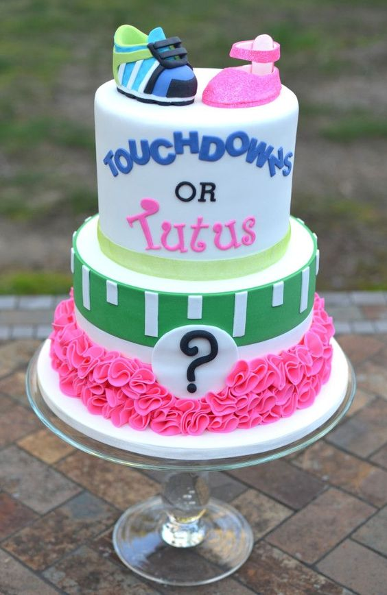 Gender Reveal Cake Ideas 40