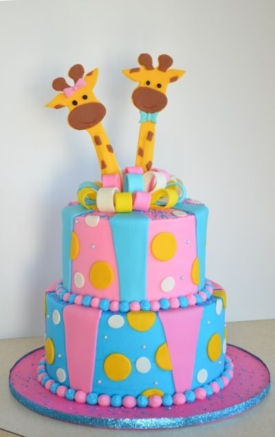Gender Reveal Cake Ideas 43