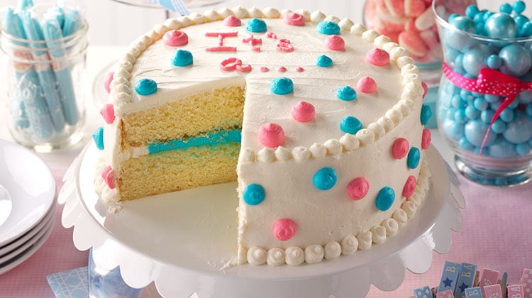 Gender Reveal Cake Ideas 48