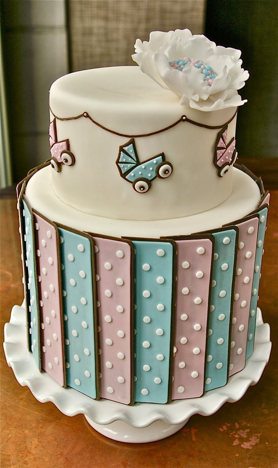Gender Reveal Cake Ideas 9