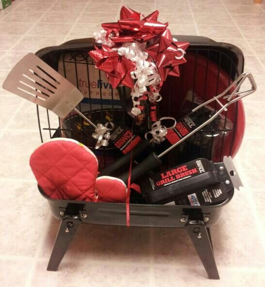 Grilling & Barbecue Gift Baskets diaper raffle prizes