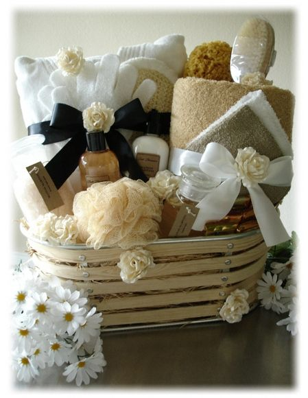 How to Make a Spa Themed Gift Basket