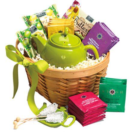 Tea Lovers Gift Basket by Empire Coffee & Tea Co.