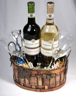 Wine Gift Baskets diaper raffle prizes