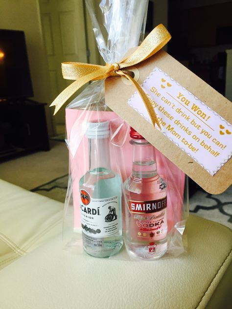 alcohol baby shower prizes