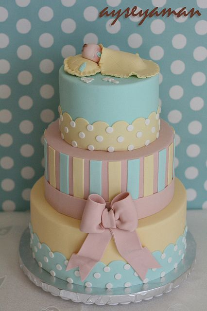 baby shower cake flavors