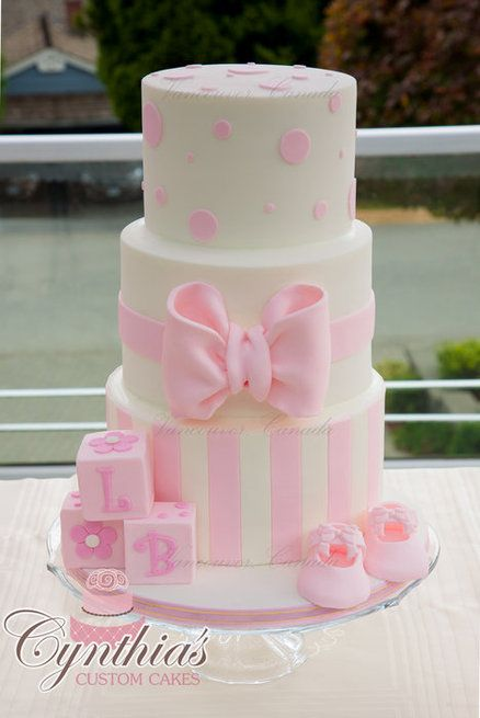 baby shower cake for girls
