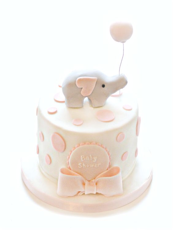 baby shower cakes 2 tier