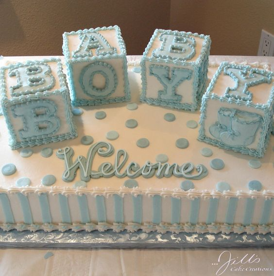 baby shower cakes 41
