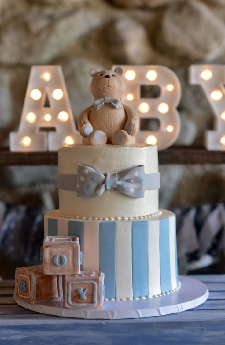 baby shower cakes for baby boys