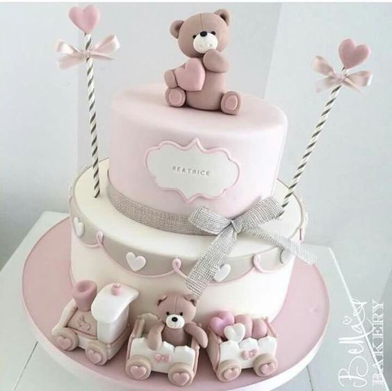 baby shower cakes girl 1