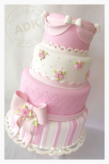 baby shower cakes its a girl