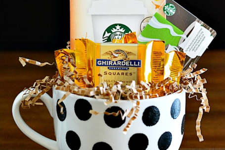 baby shower prize ideas - coffee