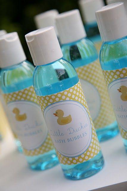 bubble bath baby shower ideas