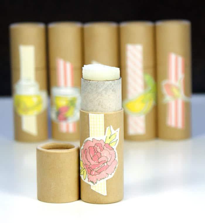 Homemade Solid Perfume