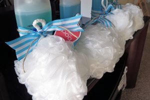 loofah baby shower prizes