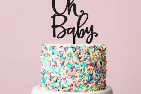 oh baby baby shower cake sayings