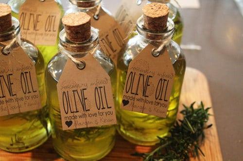 oil baby shower favors