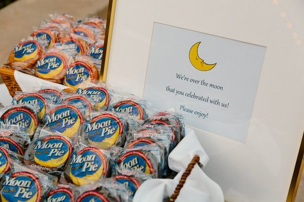 over the moon baby shower favors