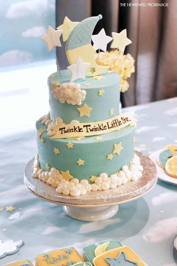 small baby shower cakes