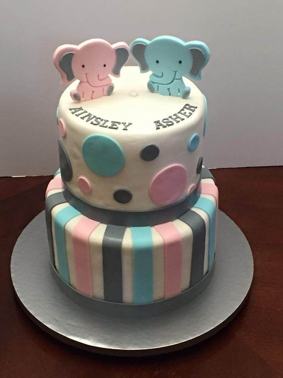 unique baby shower cakes