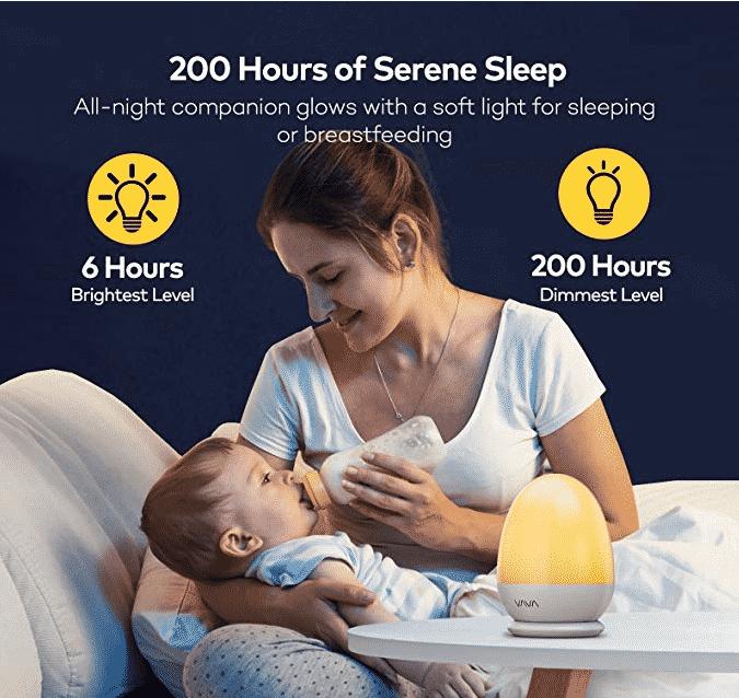 nightlight for breastfeeding