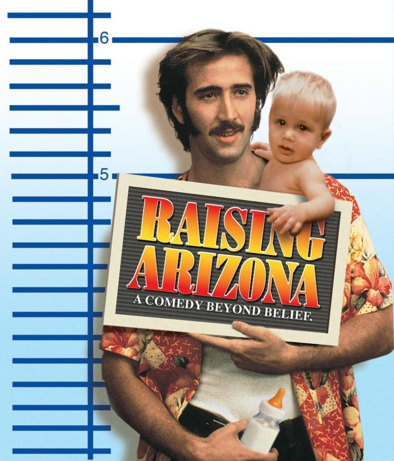 RAISING ARIZONA pregnancy movies