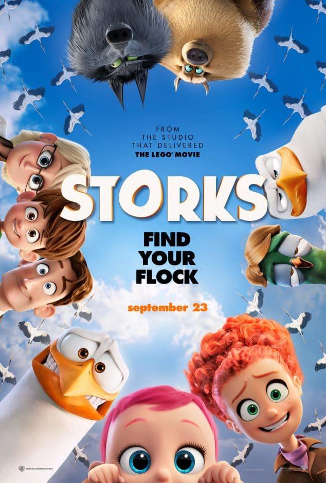 Storks pregnancy movies
