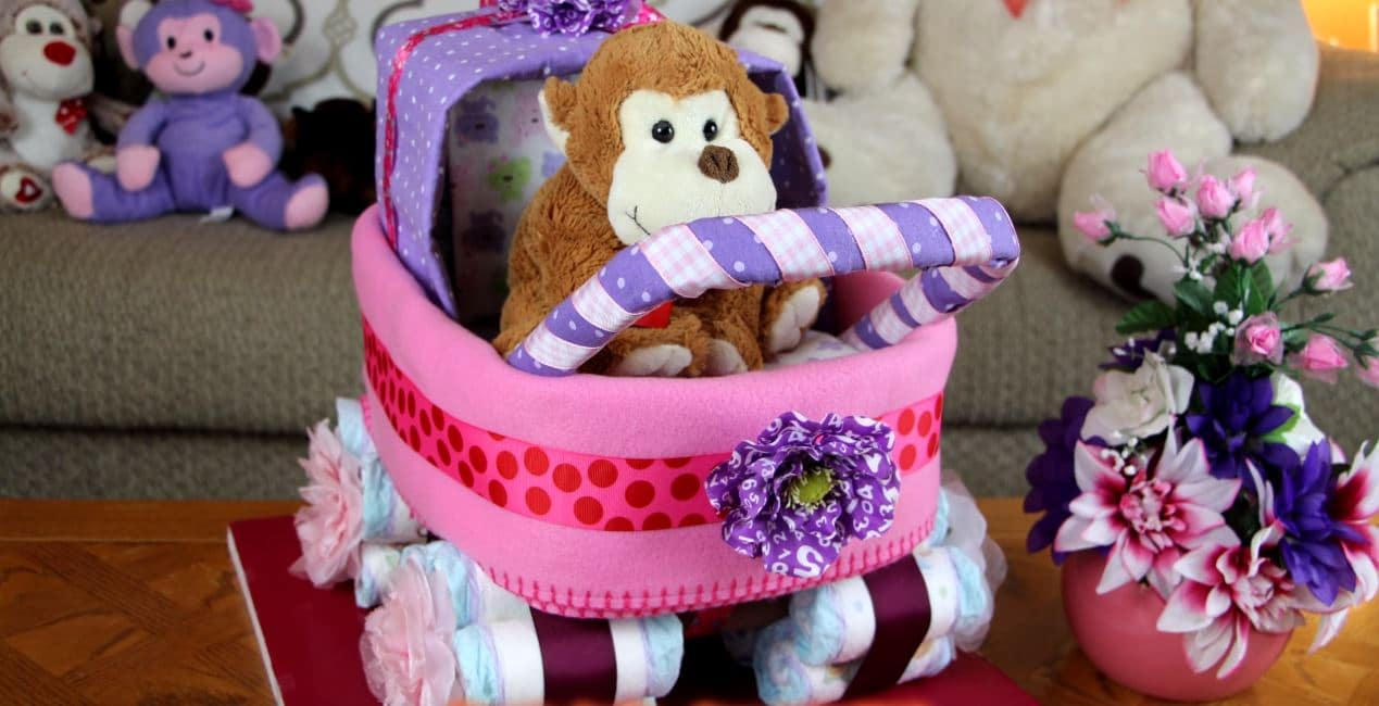 How To Make Baby Carriage Diaper Cakes With Easy To Follow