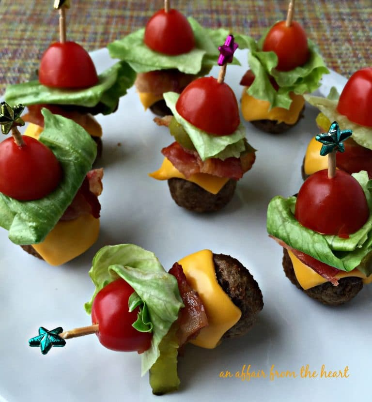 Unique Baby shower appetizers. Click to find lots of fun and delicious finger foods for your girl or boy baby shower. The collection includes easy, cheap, and cute bite size foods. There are lots of variations like cold, warm, vegetarian dishes, dips, crockpot appetizers and more.