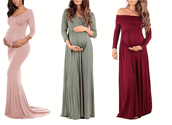 Winter Babies Beautiful Maternity Dresses For Baby Shower