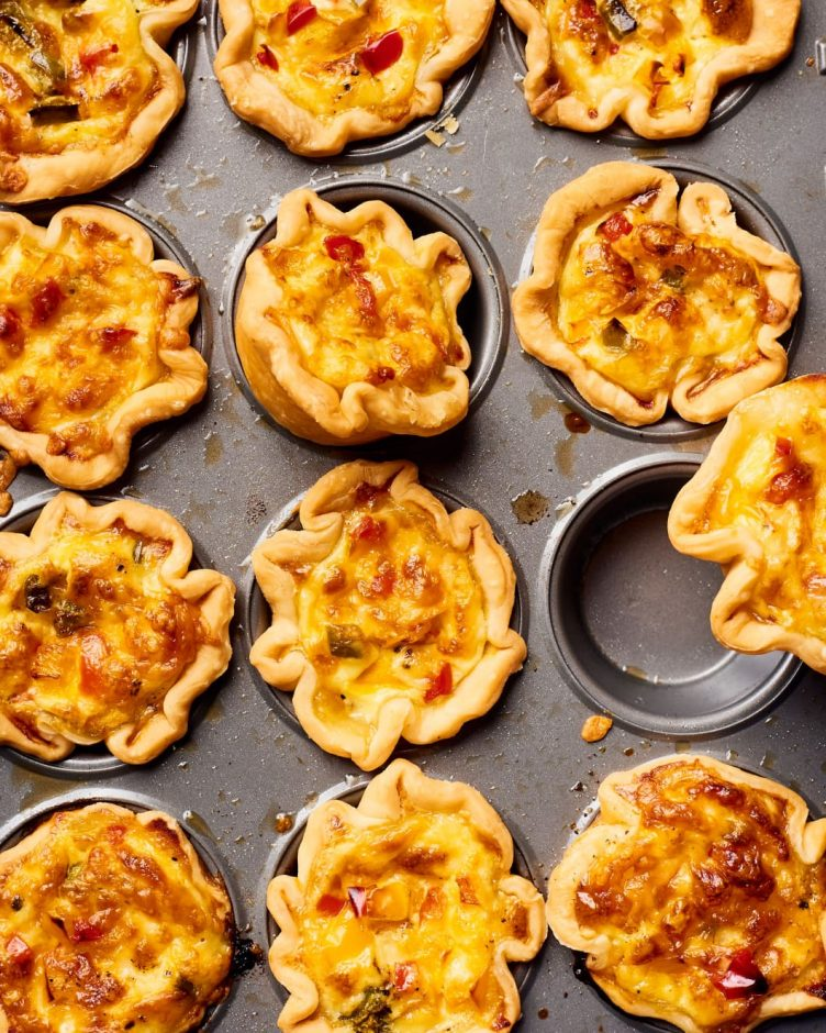 mini quiche baby shower appetizers