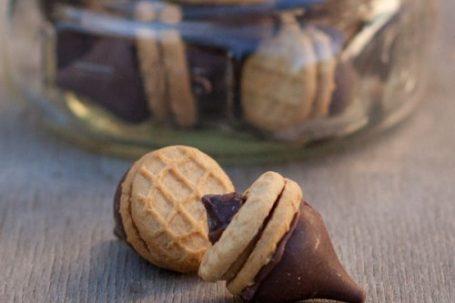 nutter butter acorns