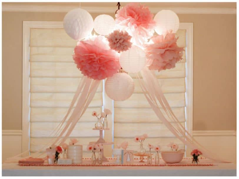Baby Shower Ideas For Girls - Click to see different themes, decorations, centerpieces, favors, food and more. If you are on a budget, there are lots of great DIY decorations too! Ideas include shabby chic, floral, rustic, boho, pink, purple, vintage, elephants and more. rustic, nautical, prince, sports, vintage and more. Pin it in your baby shower board. #babyshower #babygirl #onabudget