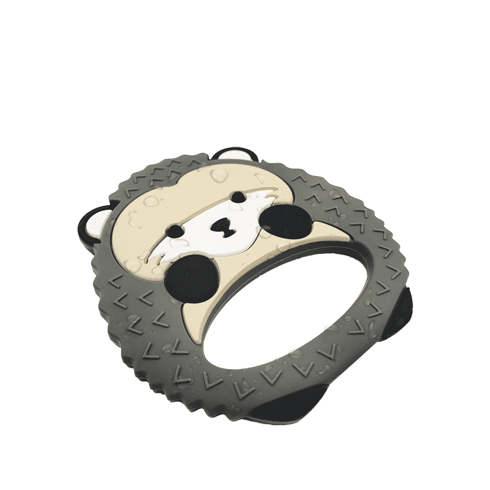 hedgehog silicone teether best teether for babies