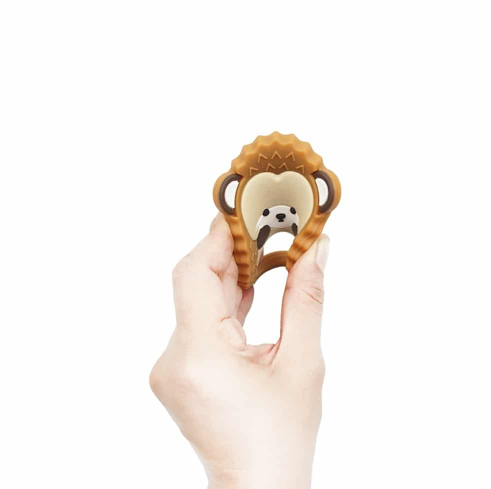 Hedgehog baby chew toy