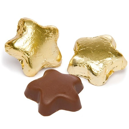 Star shaped chocolates are a great baby shower favor for your Twinkle Twinkle Little Star theme.