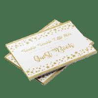 Twinkle twinkle little star baby shower guest book