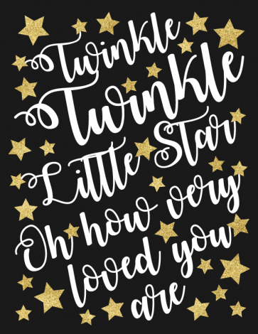 Twinkle Twinkle Little Star art