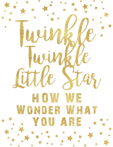 Twinkle Twinkle Little Star gender reveal