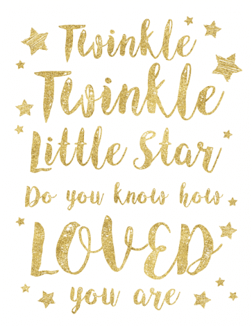 Twinkle Twinkle Little Star printables