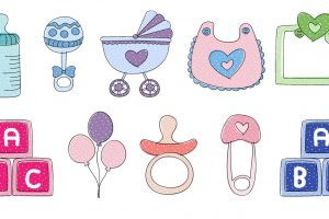 Free Downloads - Baby Shower Clip Art. You can use these templates for a boy or a girl in any kind of project like signs, invitations, thank you cards, birthday parties, cupcake toppers, in a scrapbook or album, and more. Many colors to choose from, and many adorable designs like baby bottle, rattle, pacifier, balloons, baby blocks and more. Pin it. #babyshower #clipart