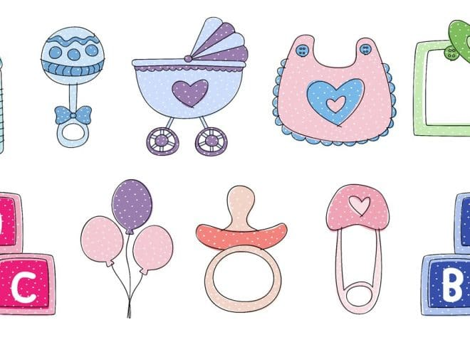 free and absolutely the cutest baby shower clip art - tulamama  tulamama