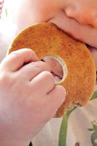 Recipes For Homemade Baby Teething Biscuits. This is a great recipe resource for easy, DIY baby cookies. Various healthy recipes to choose from like sweet potato, gluten free, rice cereal, pumpkin, applesauce, banana, and more. Pin it. #teething #teethingbabies